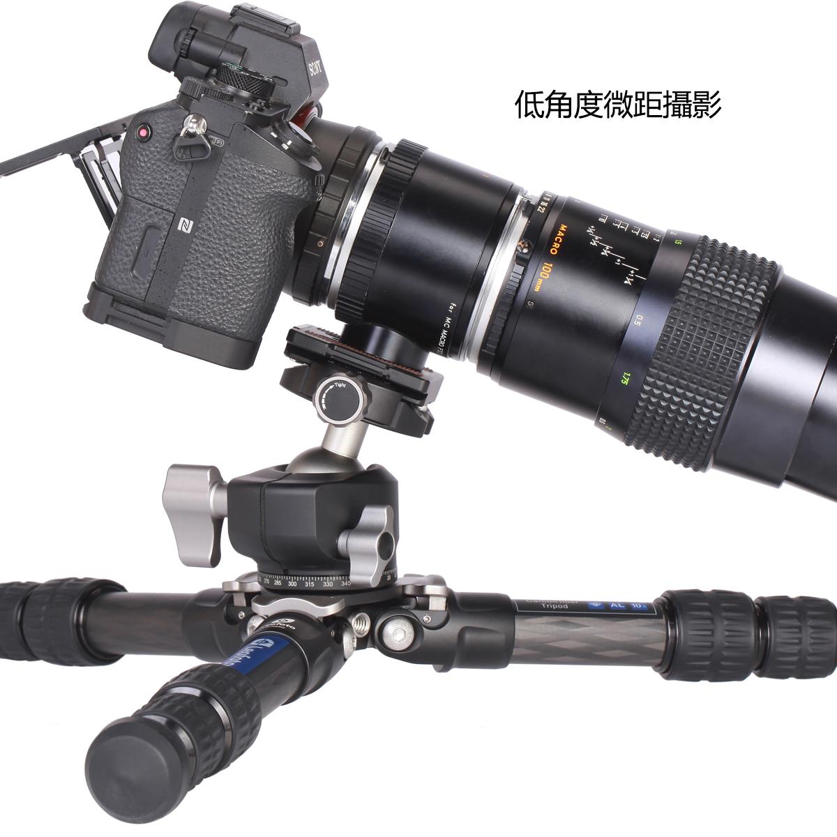 徠圖,Leofoto, LS-223C,便攜無中軸,碳纖維3節,三腳架