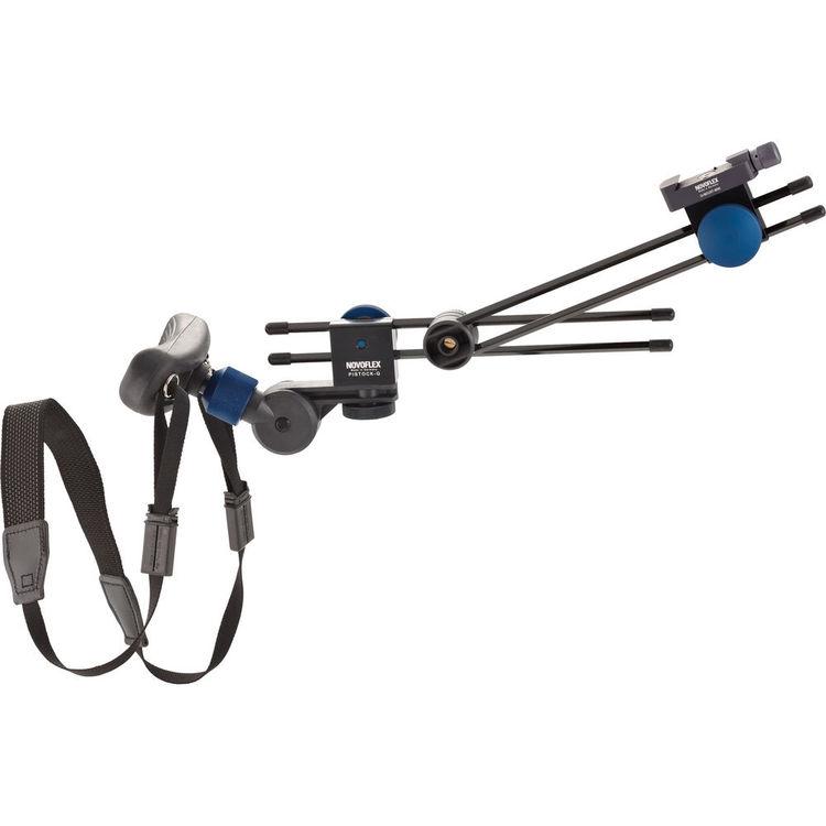 Pistock-Q,NOVOFLEX,Pistock-Q,胸/肩支撐架.專業品牌.德國製造.相機三腳架.雲台
