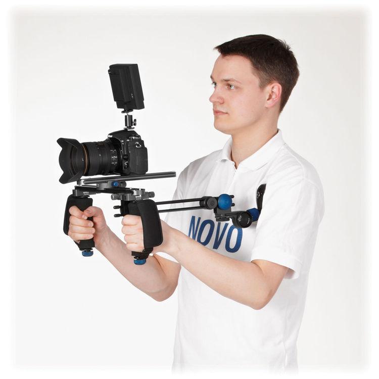 Pistock-QNOVOFLEX,Pistock-Q,胸/肩支撐架.專業品牌.德國製造.相機三腳架.雲台