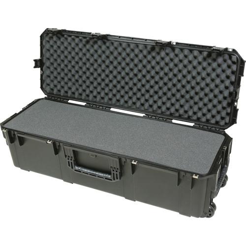 SKB Cases,3I-4213-12BL,滾輪氣密箱,內附帶層狀立體泡棉