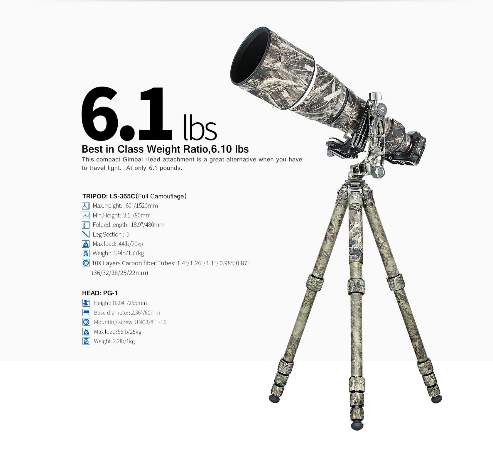 LS-365C+PG-1((Full Camouflage)