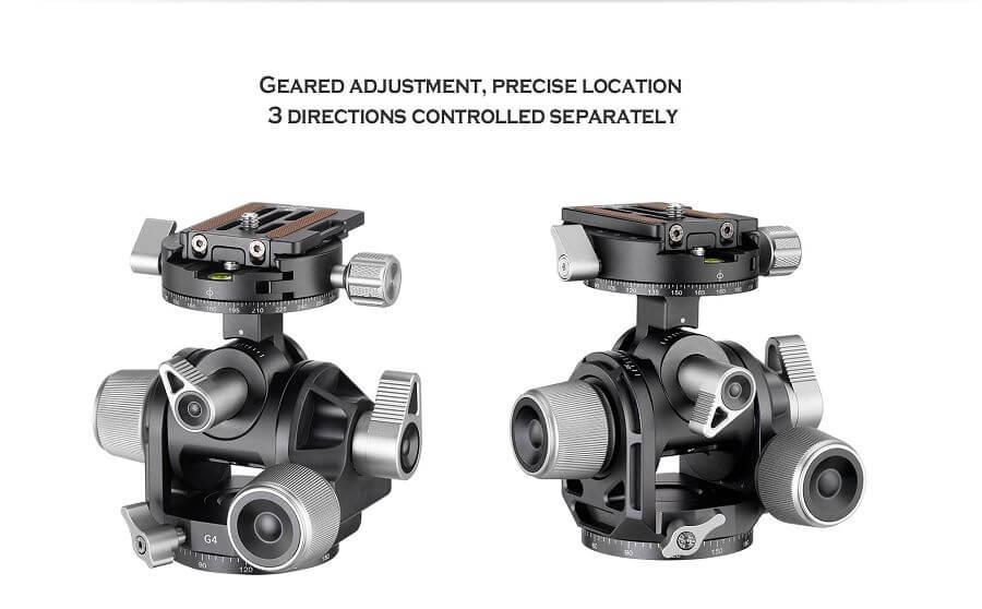 G4,齒輪雙軸,低重心,全景雲台