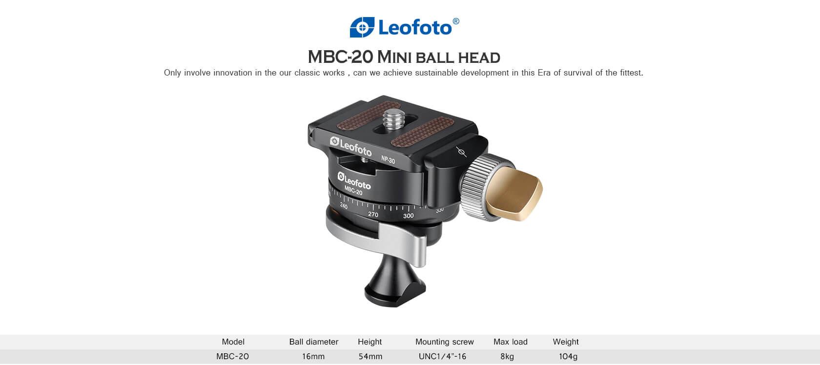 MBC-20 ,360°全景微型雲台