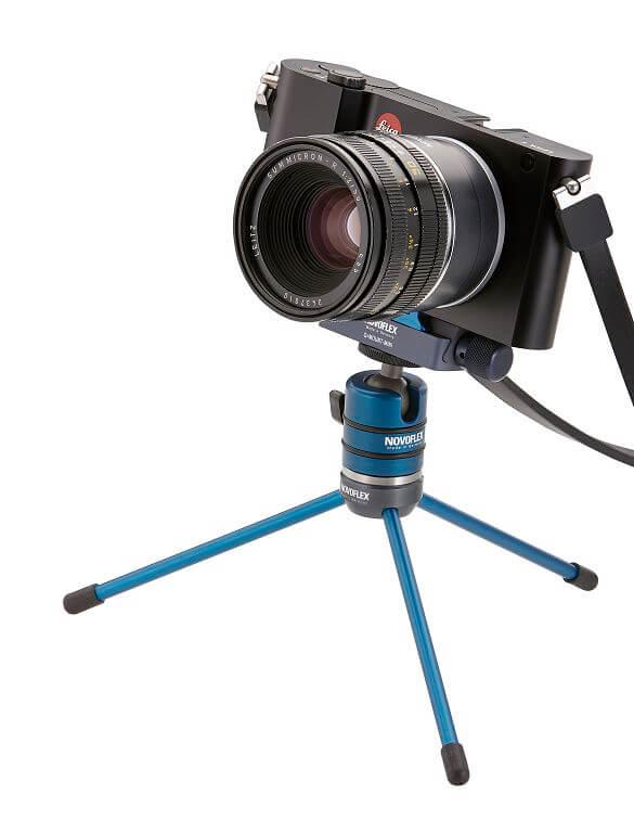 MICROSTATIV Q迷你腳架組,NOVOFLEX,專業品牌,德國製造,相機三腳架,雲台,組合基座