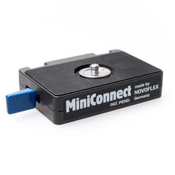 MiniConnect ,快拆座, NOVOFLEX 專業品牌 德國製造 相機三腳架 雲台