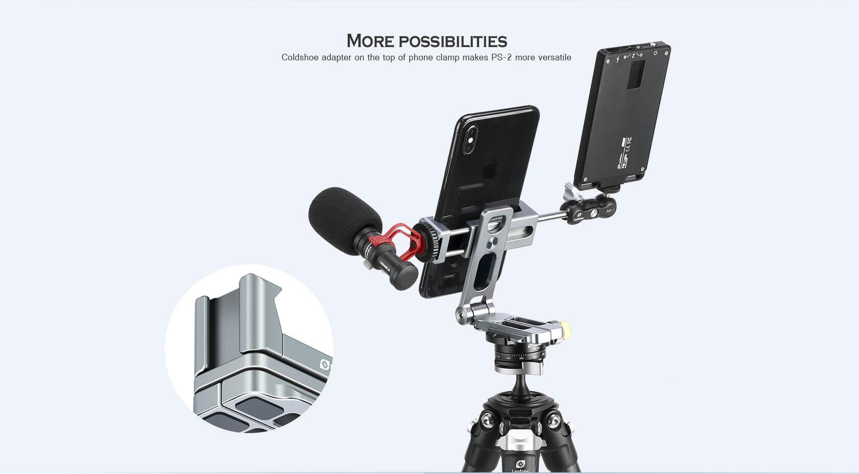 PS-2,全金屬,折疊式手機夾