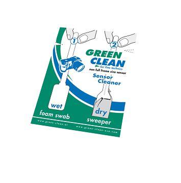 SC-4070感光元件乾濕清潔(小) GREEN CLEAN 緣色清潔 專業清潔相機用品