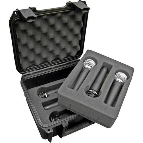 SKB 3I-0907-MC6 i系列麥克風氣密箱(6支)