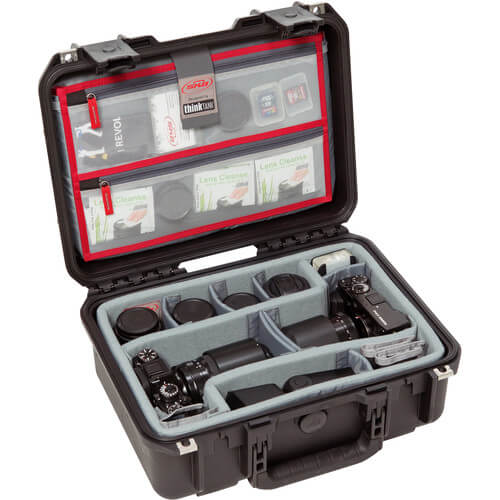 SKB-Cases-3I-1510-6DL相機氣密箱(Think-Tank內襯分隔板)