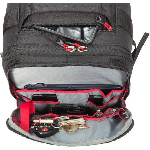 SKB Cases ,3I-2011-7BP,相機滾輪拉柄氣密箱,含雙肩後背包