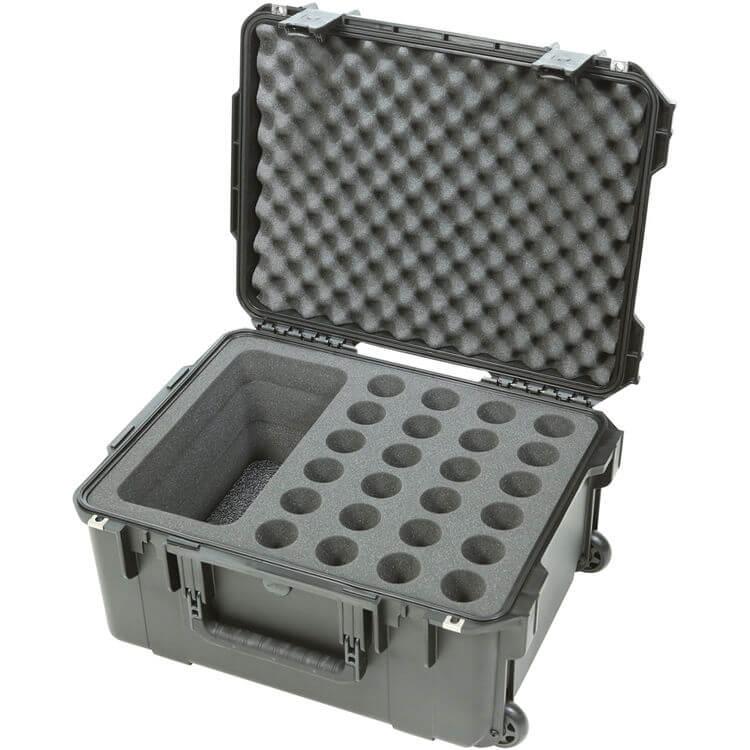 SKB Cases ,3I-2015-MC24, i系列,麥克風氣密箱(24支)