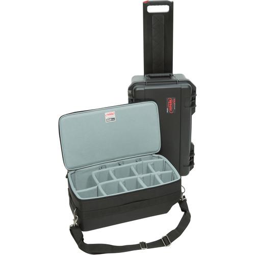 SKB Cases ,3i-2011-7DZ,相機滾輪拉柄氣密箱,(附拉鍊分隔層內袋)