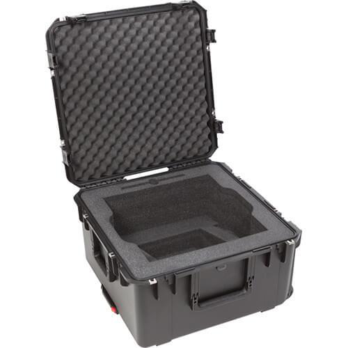 SKB Cases 3i2222-12QSC iSeries的QSC數位調音器滾輪拉柄氣密箱