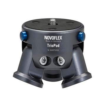 TRIOPOD,三腳架基座,NOVOFLEX,專業品牌,德國製造,相機三腳架,雲台,組合基座