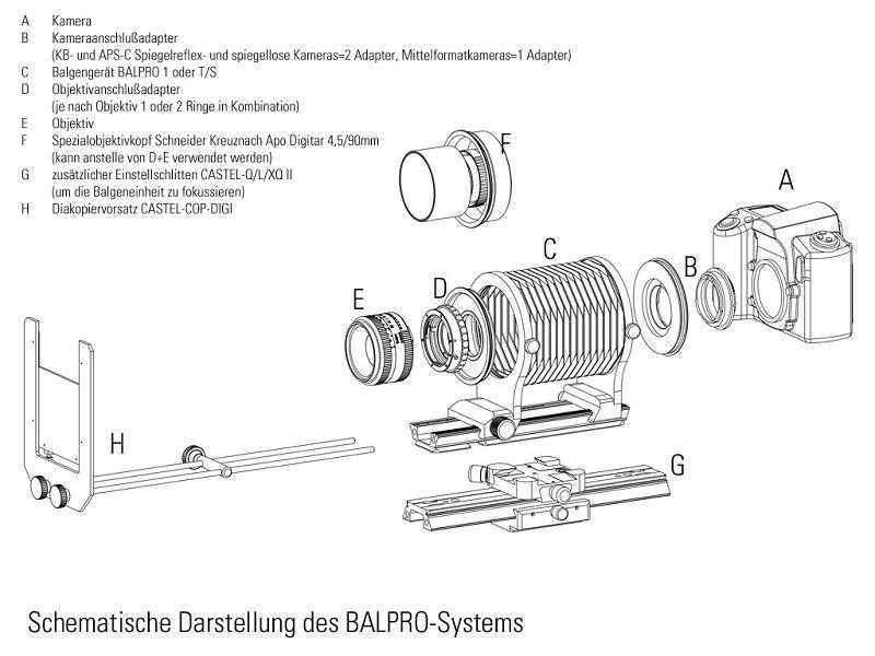 BALPRO T/S ,蛇腹基座,NOVOFLEX,專業品牌
