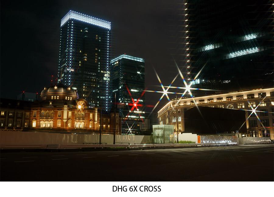 星芒濾鏡,日本專業濾鏡,marumi ,DHG Star Cross, 十字鏡 ,Cross Screen Filter,