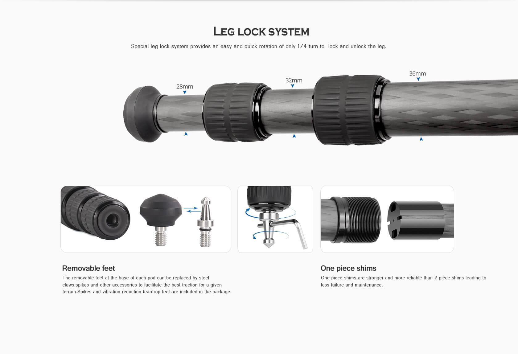 LM-363C,攝影攝像,輕量三腳架