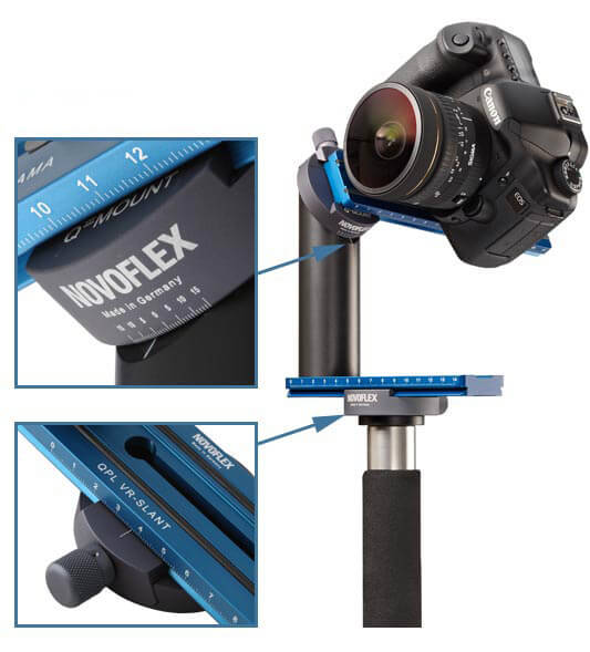 NOVOFLEX,VR-System SLANT,全景攝影系統,專業品牌,德國製造